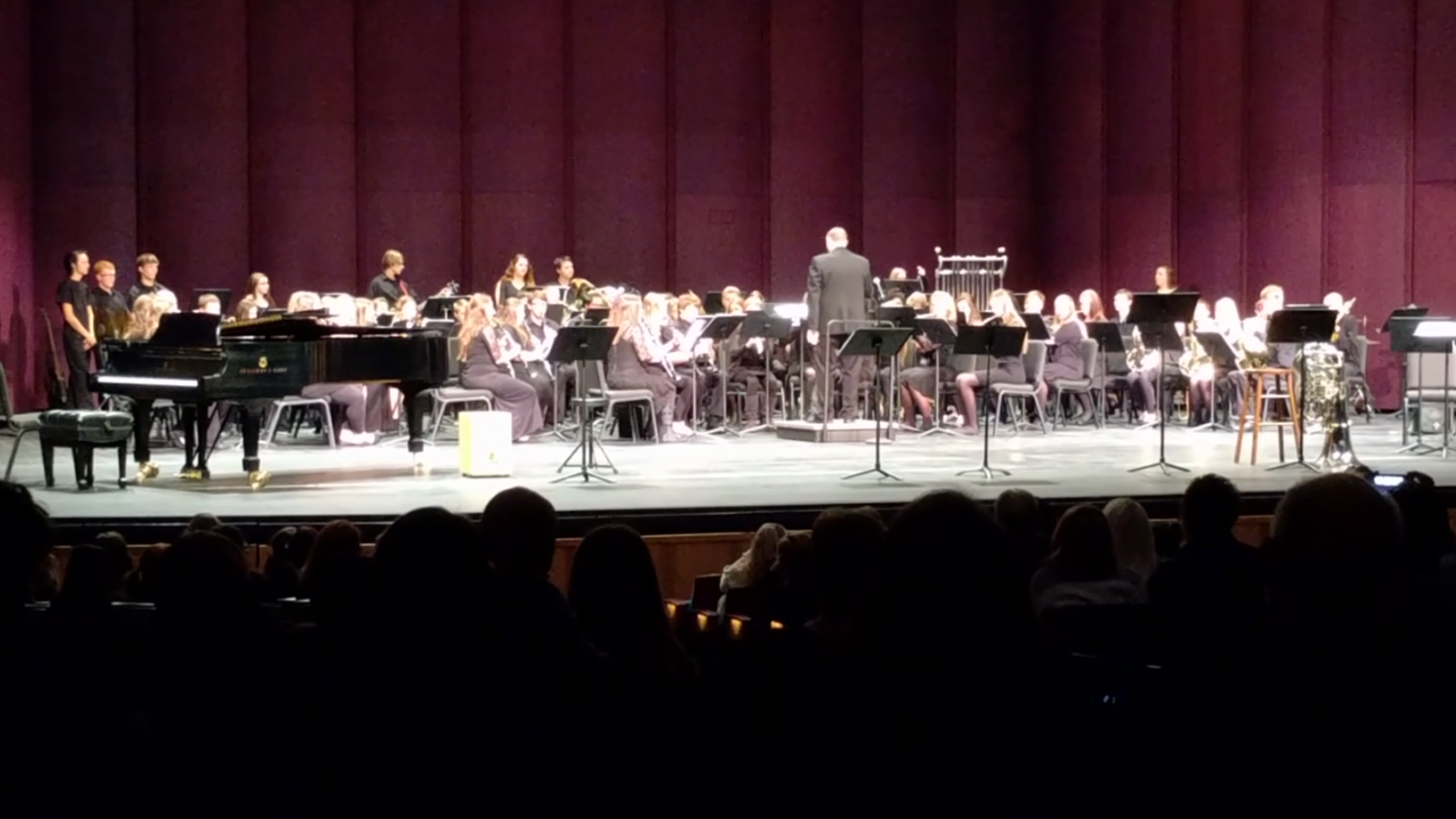 LC Band Winter Concert at SKyPAC