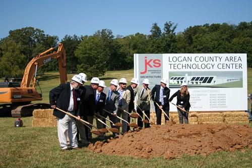 Lc Atc Groundbreaking Logan County High School