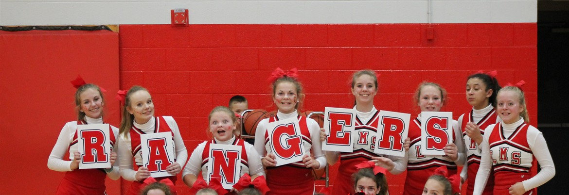 Ranger Cheerleaders!