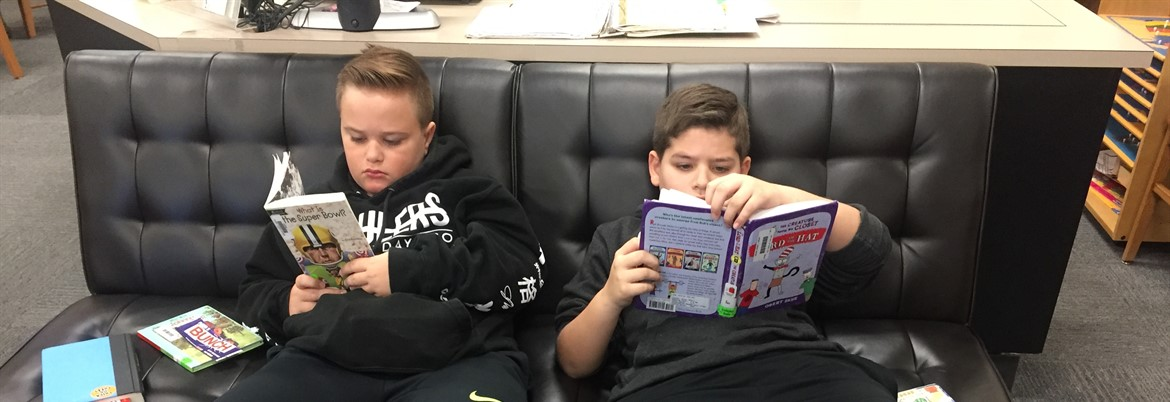 6th Grade Library Time